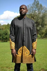 African Men Embroidery Shirt,African Men Fashion,Traditional Wedding, Prom, Men