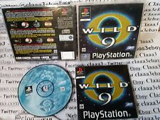 WILD 9 - PS1 SONY PLAYSTATION 1 italiano PAL COMPLETO  - come nuovo!