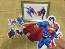 7 superman superhero sticker scrapbook party candy bag birthday party gift