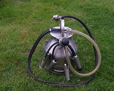 DELAVAL STAINLESS STEEL MILKER Milking Machine + PULSATOR 4 CUPS Bucket GREAT!