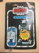 STAR WARS VINTAGE 1980 R2D2 MOC 21 BACK PUNCHED KENNER