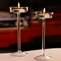 C731 Candle stick Tea Light Candle Holders | Tall Elegant Wedding Centrepiece