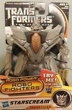 Transformers Dark of the Moon Robo Fighters StarScream Figure - Rare - New - UK