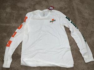 Jordan Men's Sportswear Be Like Mike Long Sleeve Tee White Size Med AJ1167 819