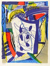 VEIT HOFMANN - Kopf - Farbsiebdruck / Farbserigrafie 1999