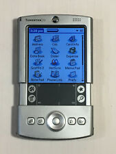 Palm Tungsten T2 Pda Handheld Organizer with Cradle and Case - Working