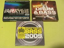Addicted to Bass 2009 Drum & Bass Xclusive Drum & Sound of Pirates 3 Albums 9 CD