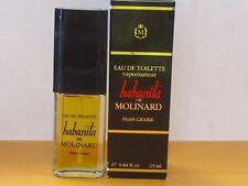 Vintage Habanita De Molinard Perfume Women o.84 fl.oz / 25 ml Eau De Toilette Sp