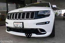 2014 Jeep Grand Cherokee SRT Front License Plate Bracket relocation frame