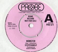 "Steppenwolf - Monster 7"" Single 1972 / DEMO"