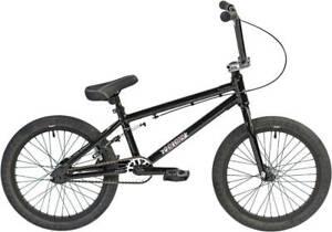 "COLONY Horizon 18 "" Gloss Black/Polished 2021 Freestyle BMX Bike"