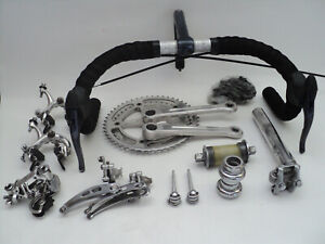Vintage 80s CAMPAGNOLO NUOVO RECORD group set build kit gruppe super