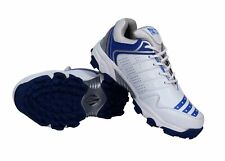 All Rounder Cricket Shoe Blue Rubber Sole For Men Breathable Express Shipping