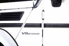 Carbon Car Body Door Side Molding Trim Ring For BENZ G class W463 G350 G500 G63