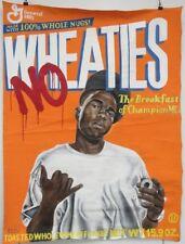 Beau Bradbury NYC Graffiti Street Artist Wheaties Breakfast Champion MCs Artwork