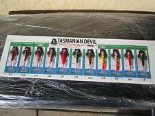 Tasmanian Devil 13.5 g BRAND NEW COLOURS new in pkt  YOUR CHOICE