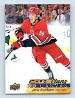 2017-18 Upper Deck Canvas Young Guns Janne Kuokkanen RC #C113