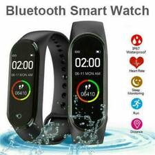 M4 Blood Pressure Monitor Smart Watch Band Heart Rate Tracker Fitness Wristband