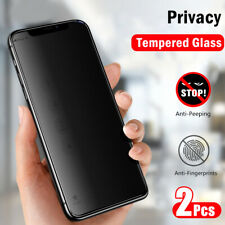 For iPhone 11 Pro Max XS 8 7 6 Tempered Glass Privacy Anti-Spy Screen Protector