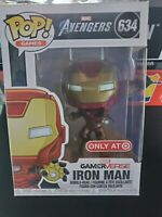Funko Pop Avengers Iron Man(Space) GamerVerse Target Exclusive #634 In Hand