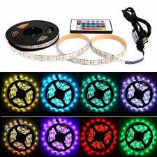 5M RGB 5050 Waterproof USB LED Strip lights TV Backlight DIY Decoration Light
