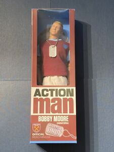 BOBBY MOORE - WEST HAM UNITED - ACTION MAN - COLLECTORS LIMITED EDITION