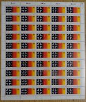 Bund 1266 postfrisch Bogen Formnummer FN 2 BRD 1985 Bundeswehr 30 Jahre MNH