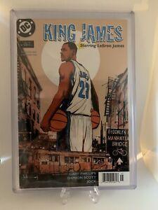 Lebron James ROOKIE #1 DC Comic 2003-04 Rare Powerade 1st Edition Lakers GOAT