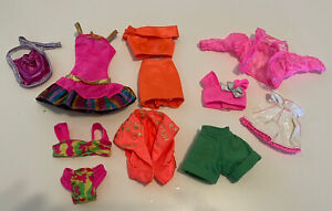 VINTAGE LOT OF BARBIE CLOTHES 80/90s