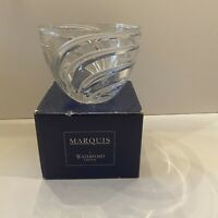 "Marquis By Waterford Crystal Artesia Bowl 6"", Swirl Glass Candy Nut Dish - Box"