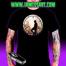 The Crow Men's 100% Cotton Tee - movie - Goth Halloween iamcesart