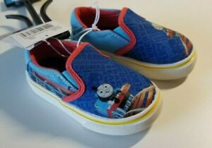 Thomas The Train Blue Toddler Boys Canvas Shoes  - New w/ Tags