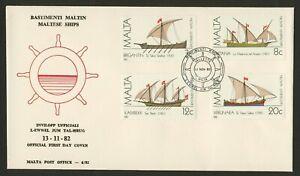 Malta 619-9c on FDC- Maltese Ships
