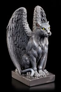 Jaguar Gargoyle Figur - Greif Chimäre Gothic Dämon