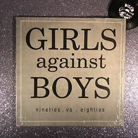 GIRLS AGAINST BOYS - 90s vs 80• Vinyl Record A2 Pressing • SLATE GVSB1 • EX/EX