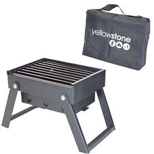 Yellowstone Mini Folding Portable BBQ Barbeque Picnic Travel Camping Grill