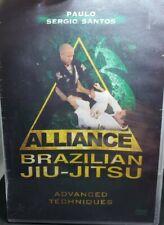 Alliance Brazilian Jiu Jitsu Dvd - Advanced Techniques Dvd ~ Paulo Sergio Santos