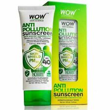 WOW Skin Science Anti Pollution Sunscreen Water Resistant Sunscreen Lotion 100ml