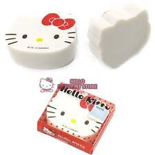 Hello Kitty Face Diecut Eraser : Red