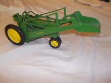 John Deere VINTAGE 1950's toy RESTORED 60 50 70 tractor w/ loader NICE ERSKA