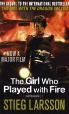 Girl Who Played With Fire Film Tie in by Larsson, Stieg