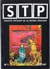 STP n°1. Fanzine bd. MOEBIUS. NEAL ADAMS. Complet 1977. TBE