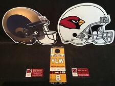 Arizona Cardinals v LA Los Angeles Rams 12/1 Yellow YLW Lot Parking Pass Tickets