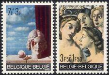 Belgium 1970 Solidarity/Magritte/Artists/Art/Paintings/Painters 2v set (n45617)