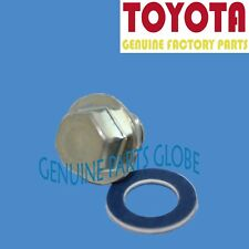 NEW GENUINE TOYOTA LEXUS SCION OEM ENGINE OIL DRAIN PLUG & GASKET SET
