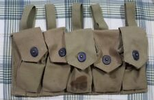 WW2 US Experimental Grenade Pouch Dated 1944