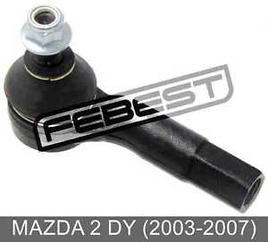 Steering Tie Rod End Left For Mazda 2 Dy (2003-2007)