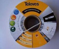 30 mt CAVO ANTENNA COASSIALE TELEVES CLASS A 3 GHz 5mm 210601 OMOLOGATO SKY HD