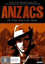 ANZACS in the face of War - DVD - Narrated by John Stanton - New Region 4