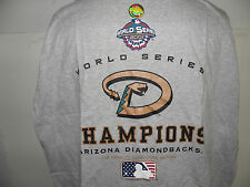 MLB Arizona Diamondbacks 2001 World Series Champions Logo  Clubhouse t-shirt XL